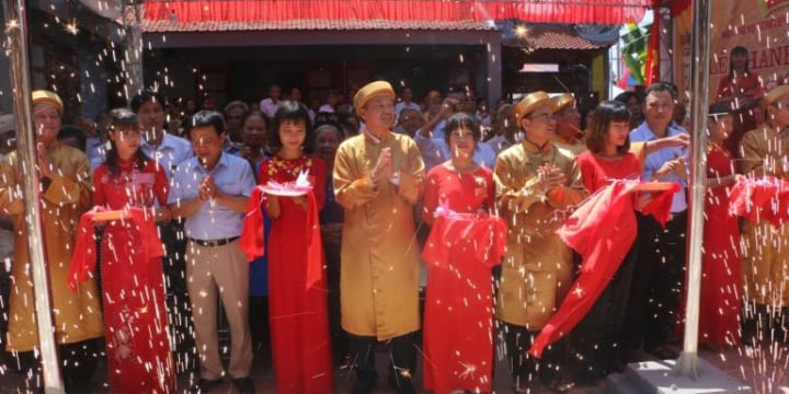 Công ty tổ chức lễ khánh thành giá rẻ tại Hà Nội I Lễ khánh thành Nhà thờ Họ Dương