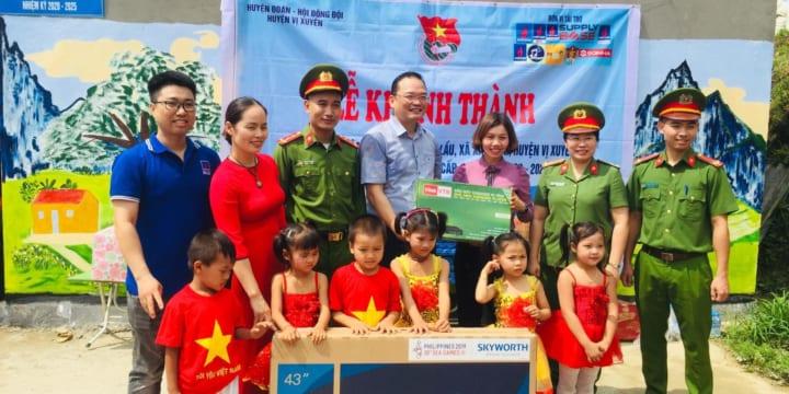Công ty tổ chức lễ khánh thành giá rẻ tại Hà Giang I Lễ khánh thành điểm trường Nậm Lầu 2