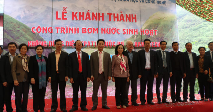 Công ty tổ chức lễ khánh thành giá rẻ tại Hà Giang I Lễ khánh thành công trình bơm nước sinh hoạt