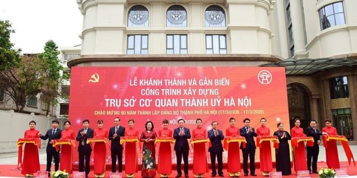 Công ty tổ chức lễ khánh thành giá rẻ tại Hà Nội I Lễ khánh thành 90 năm Ngày thành lập Đảng