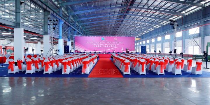Công ty tổ chức lễ khánh thành chuyên nghiệp tại KCN Sông Lô, Vĩnh Phúc