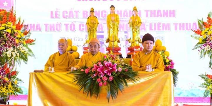 Công ty tổ chức lễ khánh thành giá rẻ tại Hà Nam I Lễ khánh thành ngôi nhà Tổ chùa Đức Long