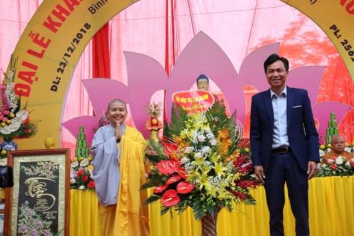 Công ty tổ chức lễ khánh thành giá rẻ tại Hà Nam I Lễ khánh thành chùa La Hào