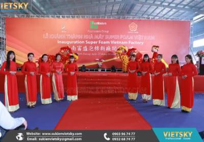Công ty tổ chức lễ khánh thành chuyên nghiệp tại KCN Lập Thạch, Vĩnh Phúc