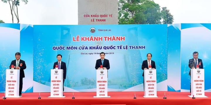 Công ty tổ chức lễ khánh thàn giá rẻ tại Gia Lai I Lễ khánh thành Cửa khẩu quốc tế Lệ Thanh