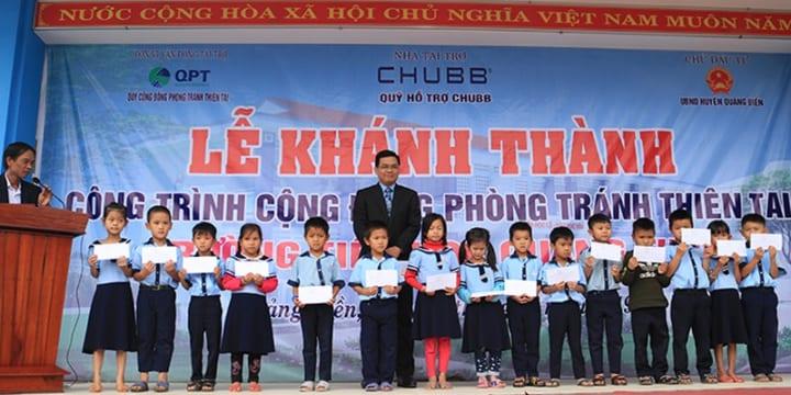 Tổ chức lễ khánh thành tại Huế | Khánh thành công trình phòng tránh thiên tai tại Thừa Thiên Huế