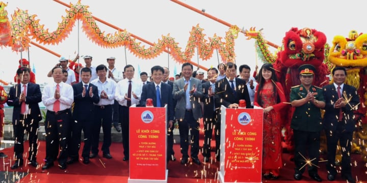 Tổ chức lễ khánh thành giá rẻ tại Đà NẵngI Khánh Thành nút giao thông Ngã Ba Huế
