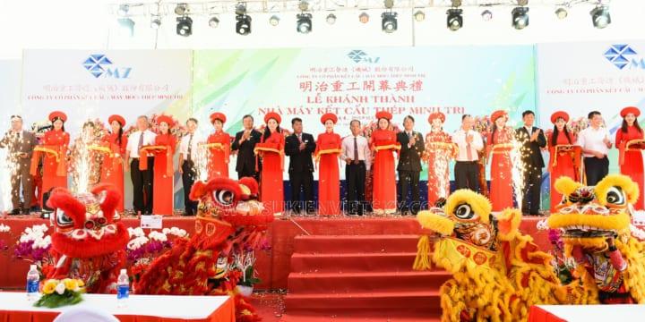 Công ty tổ chức lễ khánh thành chuyên nghiệp tại KCN Bá Thiện, Vĩnh Phúc
