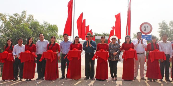 Công ty tổ chức lễ khánh thành giá rẻ tại Long AnIkhánh thành cầu giao thông nông thôn