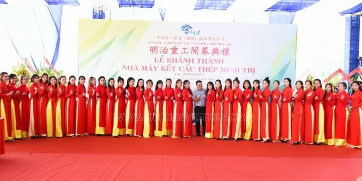 Công ty tổ chức lễ khánh thành chuyên nghiệp tại KCN Tam Dương, Vĩnh Phúc