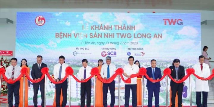 Công ty tổ chức lễ khánh thành giá rẻ tại Long AnI khánh thành Bệnh viện sản nhi TWG Long An