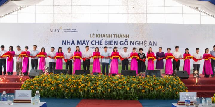 Công ty tổ chức lễ khánh thành giá rẻ tại Nghệ An| Khánh thành nhà máy chế biến gỗ Nghệ An