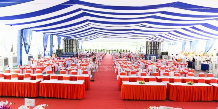 Công ty tổ chức lễ khánh thành chuyên nghiệp tại KCN Sơn Lôi, Vĩnh Phúc