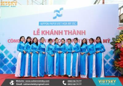 Công ty tổ chức lễ khánh thành chuyên nghiệp tại KCN Vĩnh Thịnh, Vĩnh Phúc