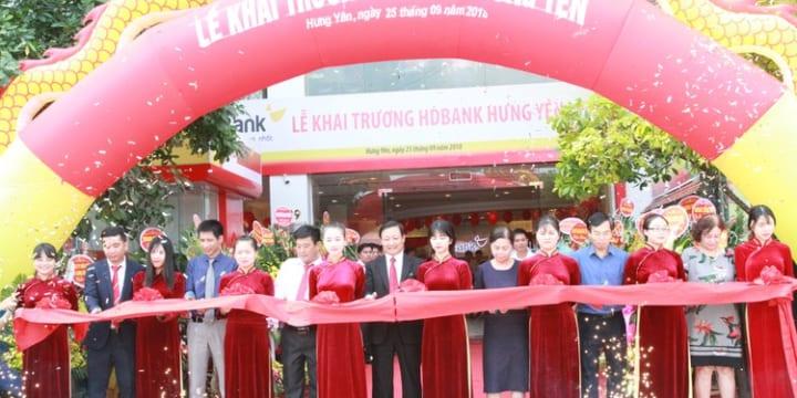 Công ty tổ chức khai trương tại Hưng Yên | LỄ KHAI TRƯƠNG HDBANK HƯNG YÊN