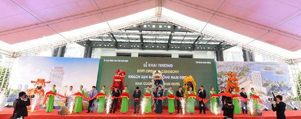 Công ty tổ chức lễ khai trương giá rẻ tại Nam ĐịnhI khai trươngKhách sạn Nam Cường