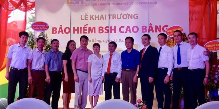 Tổ chức lễ khai trương giá rẻ tại Cao BằngI Lễ khai trương Bảo hiểm BSH Cao Bằng