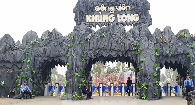 Công ty tổ chức lễ khai trương giá rẻ tại Ninh Bình| khai trương công viên Khủng Long