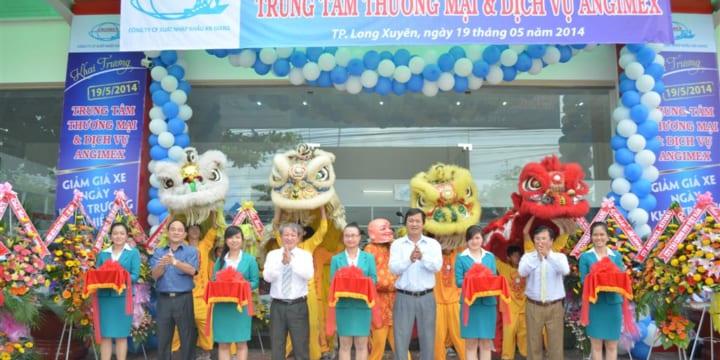 Công ty tổ chức lễ khai trương chuyên nghiệp tại An Giang I Lễ khai trương trung tâm thương mại và dịch vụ Angimex