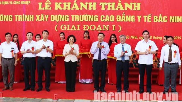 Công ty tổ chức lễ khai trương giá rẻ tại Bắc Ninh I Lễ khánh thành Trường Cao đẳng Y tế Bắc Ninh