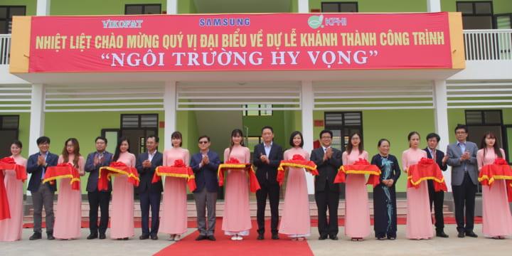 Công ty tổ chức lễ khánh thành chuyên nghiệp tại Thái Nguyên I Lễ khánh thành Ngôi trường Hy vọng