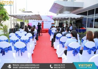 Tổ chức lễ khánh thành chuyên nghiệp tại Vĩnh Long