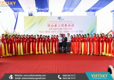 Công ty tổ chức lễ khánh thành chuyên nghiệp tại Vĩnh Phúc