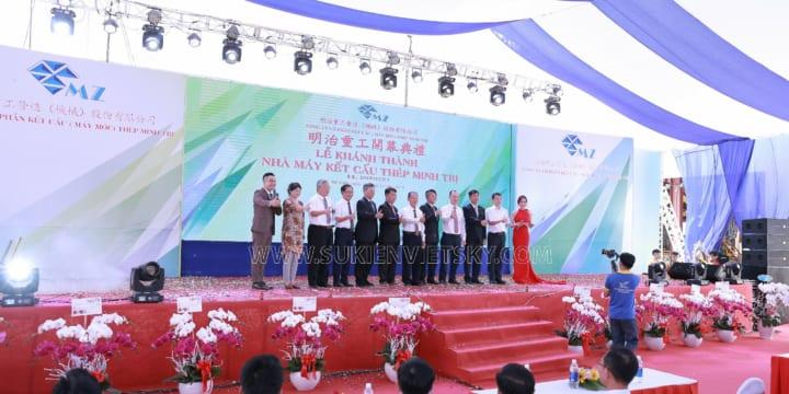 Công ty tổ chức lễ khánh thành giá rẻ chuyên nghiệp tại Trà Vinh